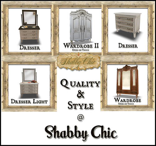 Quality and Style at Shabby Chic by Shabby Chics
