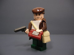 Sean Devlin- The Saboteur (Silentmaster OO5) Tags: brickarms brickforge mmcb