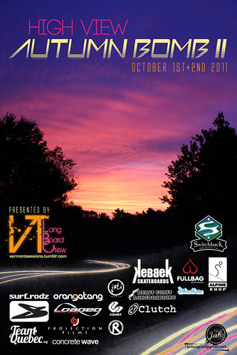 High View Autumn Bomb II Poster sponsors 2