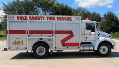 Polk County Fire Rescue - Air 461 (FormerWMDriver) Tags: county rescue truck fire florida cab air engine vehicle fl emergency conventional services polk t300 kenworth 461 1920x1080