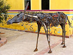 Iron Donkey (Oldt1mer - Keith) Tags: sculpture holiday art artwork egypt scrapmetal elgouna mygearandme mygearandmepremium mygearandmebronze mygearandmesilver