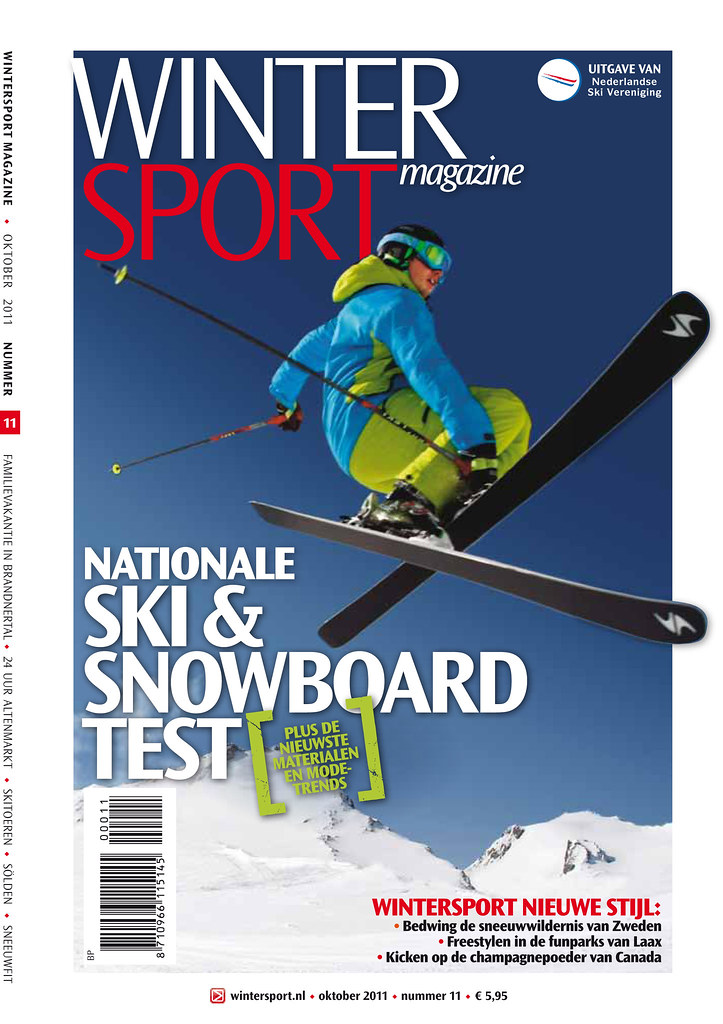 Cover Wintersportmagazine 2011