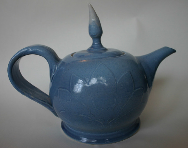 72 'Kitsune teapot' by Catherine Bell