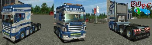 Mod SCANIA R580 8X4  Para Euro Truck Simulator