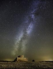 Paredes de Nava (Palencia) Palomar en el campo I (martin zalba) Tags: night stars landscape star noche spain paisaje via estrellas estrella paredes nava palencia lactea