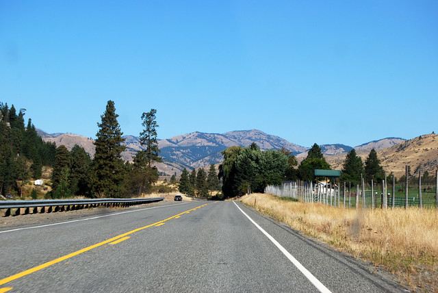 SR 153 north of Methow