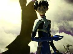 Shinji Ikari - Pilot Eva 01 (1/6th shooter) Tags: anime japanese eva robots actionfigures neongenesisevangelion otaku japanimation mecha shinji evangelion medicomtoys