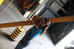 Sarah Hugs the VAB