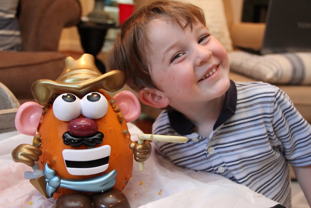 Mr Potato Head Pumpkin