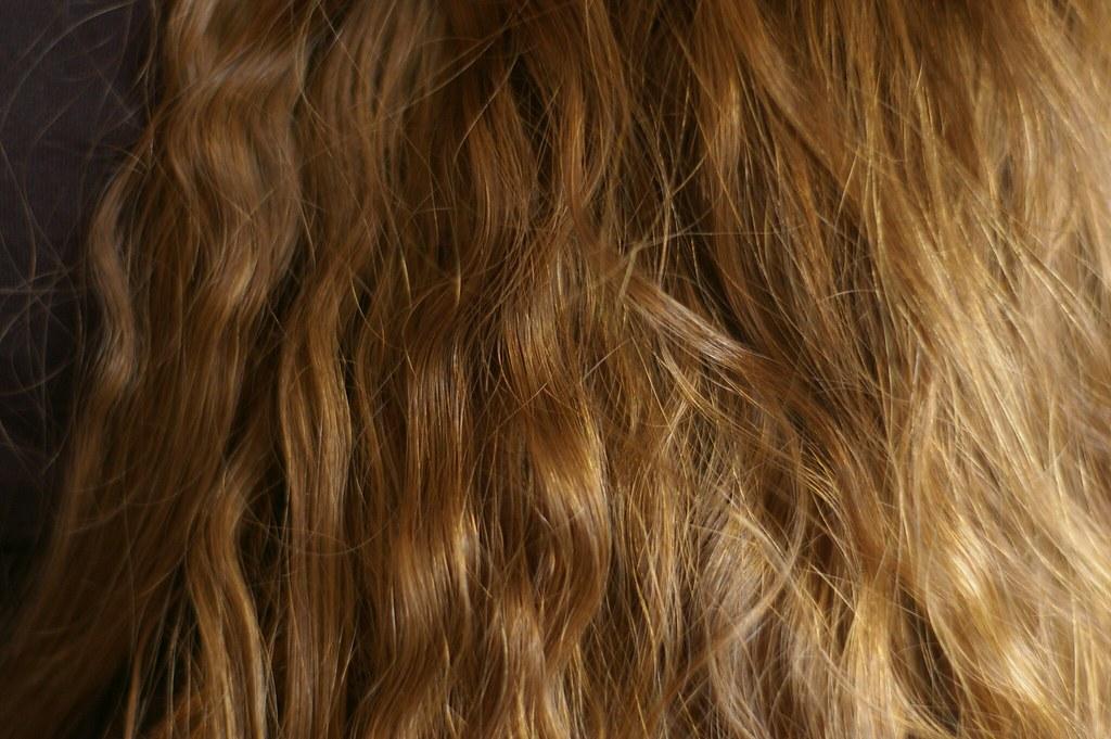 More hair.