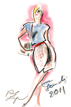 FROM_MR._LAGERFELD_SKETCHES_FOR_FENDI_SS11