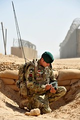 Royal Engineer uses Makefast Equipment Construction Software in Afghanistan (Defence Images) Tags: uk afghanistan building computer soldier army construction technology military it hampshire using equipment british defense defence communications touchscreen royalengineers personnel campbastion royalengineer makefast monxton nonidentifiable bowmanradio 24commandoengineerregiment