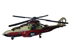 Helicopter (Steinchenbauer) Tags: dino lego attack helicopter weapon vehicle minifig 2010 minifigure