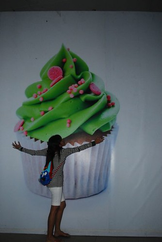 This is my cupcake.