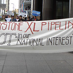 Protest against the proposed KeystoneXL tar sands pipeline thumbnail