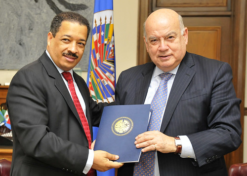 OAS Secretary General Meets with Chair of the Dominican Republic's Electoral Board