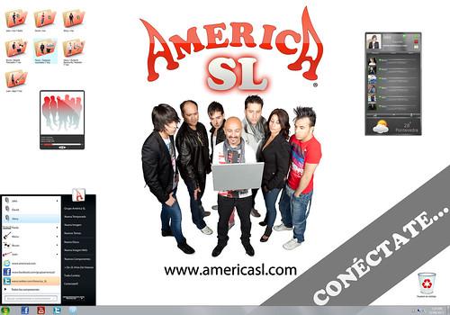 América SL 2011 - grupo - cartel