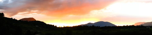 Sunset in Chilliwack