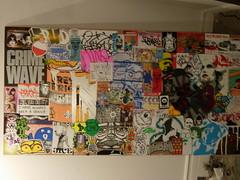 toronto sticker show setup (andres musta) Tags: show toronto expo arts international adhesive combo 2011