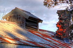 Old house, (chimney and roof detail) Longbeach, Canterbury, New Zealand (brian nz) Tags: old roof newzealand chimney house building abandoned home rural vent rust iron decay farm cottage canterbury historic longbeach derelict corrugated dilapidated deterioration oldandbeautiful oncewashome