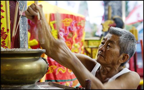 Inside Kathu Shrine, Phuket