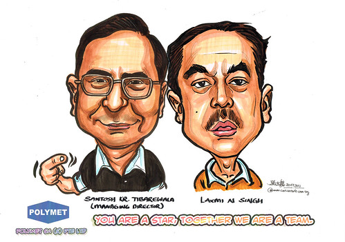 Caricatures for Polymet - 9