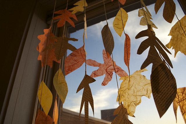 Crafted Fall Leaves
