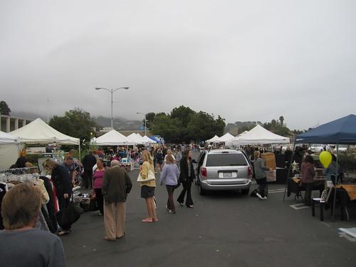 Malibu Lions Club flea market