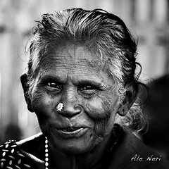 Vellore - Tamil Nadu (ale neri) Tags: street travel portrait people bw india indian tamilnadu reportage aleneri alessandroneri
