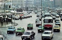 Seoul City Hall Plaza (National Geographic, Dec 1979) (InSapphoWeTrust) Tags: korea seoul kia southkorea hyundai 1979 韓國 서울 한국 대한민국 republicofkorea 大韓民國