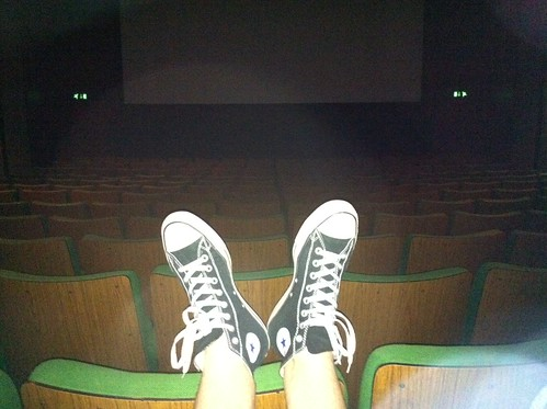 Empty cinema screen! by mattmecham
