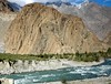 From Ghakuch to Gupis, Pakistan (Ameer Hamza) Tags: blue mountain classic river design september clean clear eruption glassy classy northernpakistan kpc ppa northpakistan trekkinginpakistan gupis shandurriver nearghakuch trekkersofkarachi