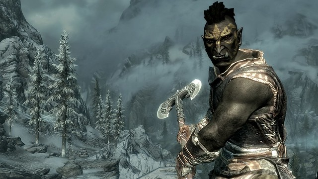PS3: Orc Male - Skyrim