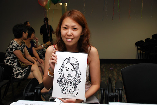 caricature live sketching for iFast Financial Pte Ltd - 5
