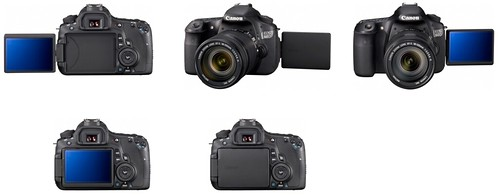 Canon 60D – Articulating LCD