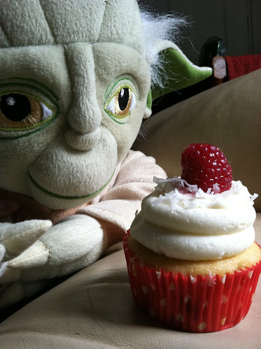 Yoda loves cupcake day. by drwhogrl