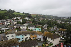Totnes Rooftops (lazy south's travels) Tags: uk houses roof england building town view rooftops britain top devon totnes