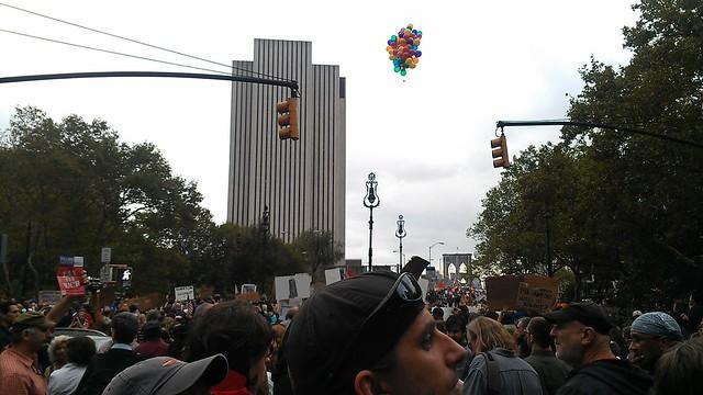 #OccupyWallStreet balloons