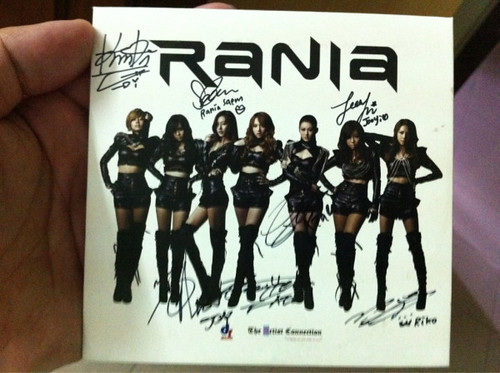 autographed CD from Rania