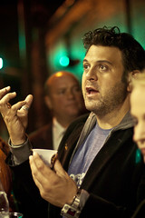 Adam Richman and Food Freaks Grilled Cheese Truck at Brooklyn´s Bounty Wine & Food Fest