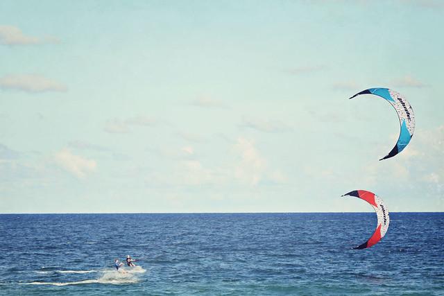 Fort Lauderdale beach kitesurfer 10