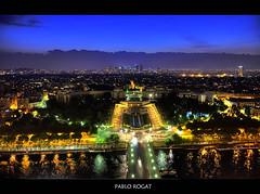 Paris (Pablo Rogat) Tags: chile travel paris france color nikon europe eiffel senna hdr champsdemars camposeliseos camposdemarte riosenna nikond7000