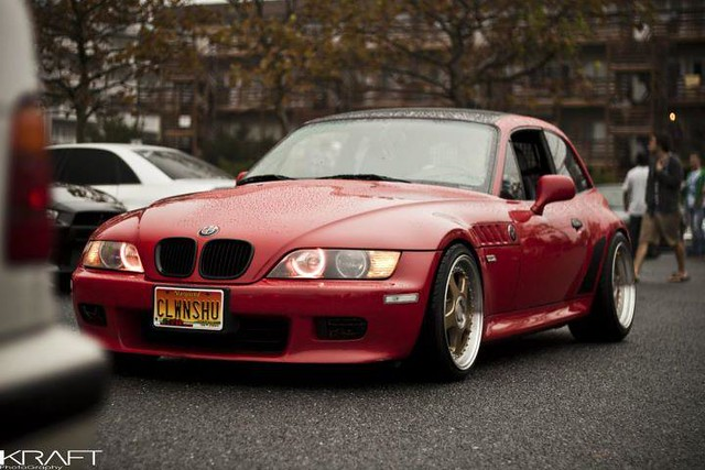 1999 BMW Z3 Coupe | Hellrot Red | Black