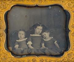 Three Sisters Daguerreotype (Mirror Image Gallery) Tags: daguerreotype victorianchildren victoriangirls
