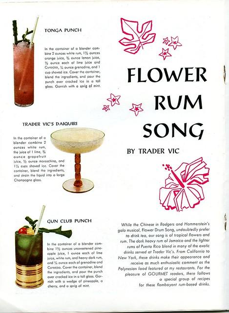Flour Rum Song 1 1959