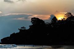 850C4014- Sunset over Batu-Batu (Zoemies...) Tags: sunset beach nature silhouette rocks balikpapan batubatu melawai zoemies