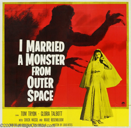 I Married a Monster from Outer Space (1958) 6 Sheet