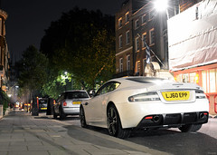 White Knight (tWm.) Tags: white london car night nikon martin thomas super mein nikkor epp coupe supercar f4 aston dbs v12 24120 lj60 d7000 lj60epp
