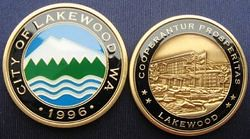 Lakewood Challenge Coin