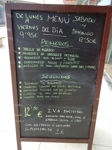 Zaragoza | Impass | Menú